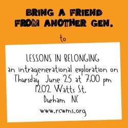 RCWMS Promo - Lessons in Belonging